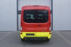 Ford Transit  in auffälliger 